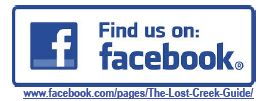 Follow Lost Creek Guide on Facebook!
